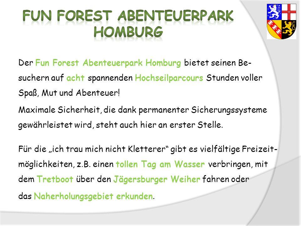 Fun Forest Abenteuerpark Homburg