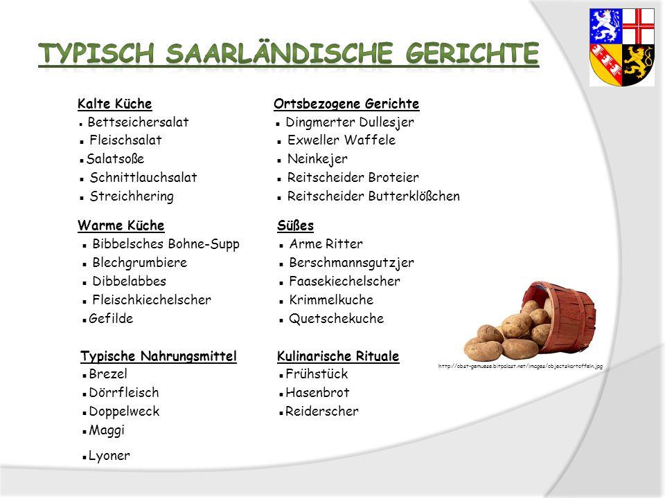 Typisch Saarländische Gerichte