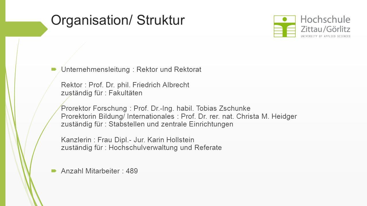 Organisation/ Struktur