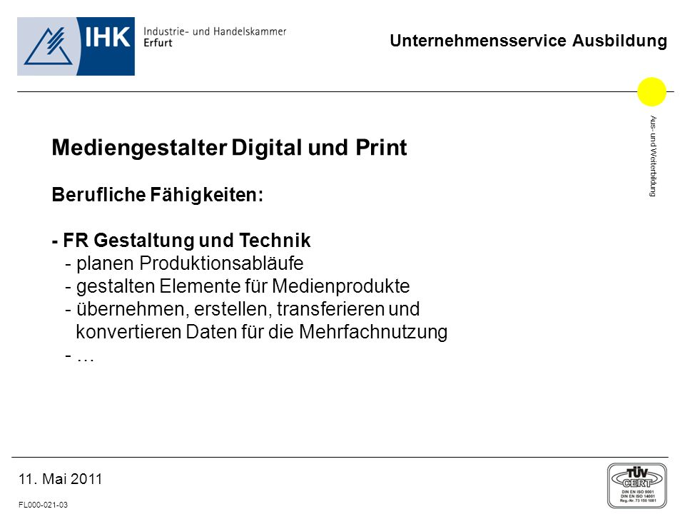 Mediengestalter Digital und Print