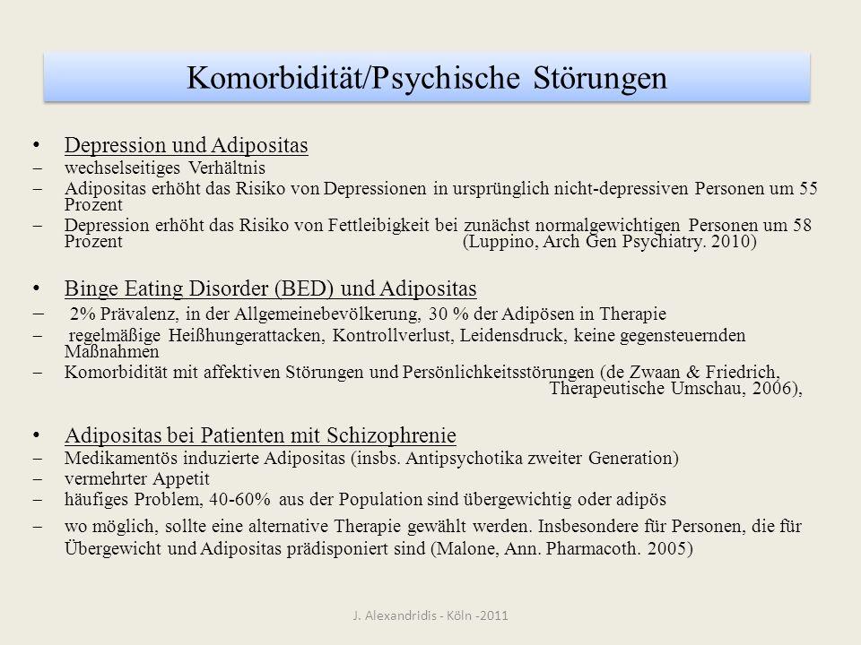 Komorbidität/Psychische Störungen