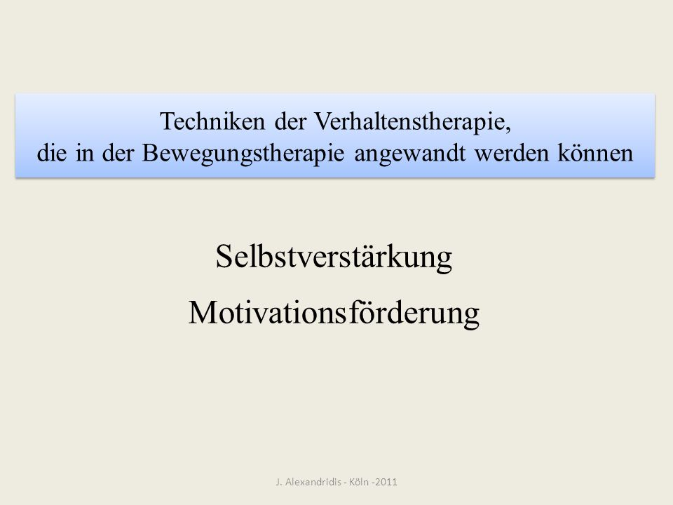 Motivationsförderung