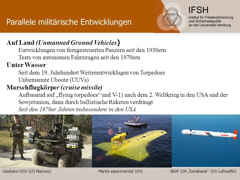 Parallele militärische Entwicklungen