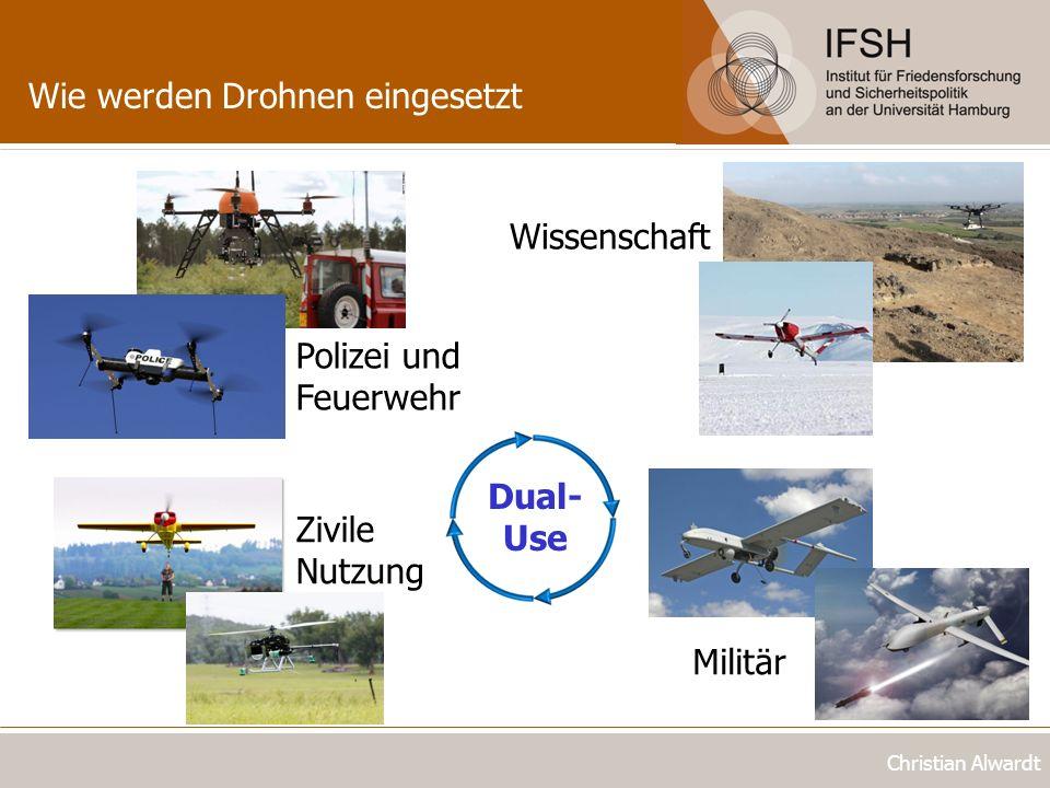 Wie werden Drohnen eingesetzt