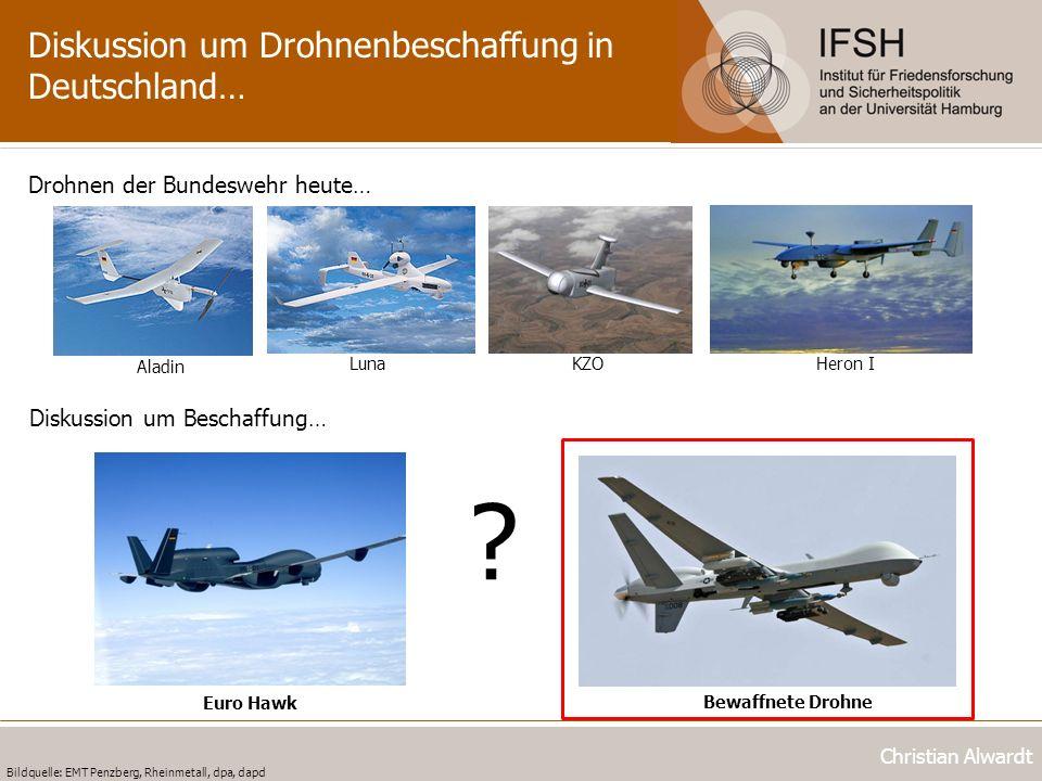 Diskussion um Drohnenbeschaffung in Deutschland…