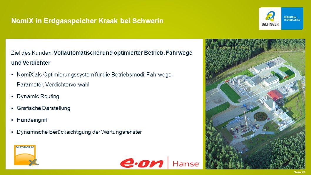 NomiX in Erdgasspeicher Kraak bei Schwerin