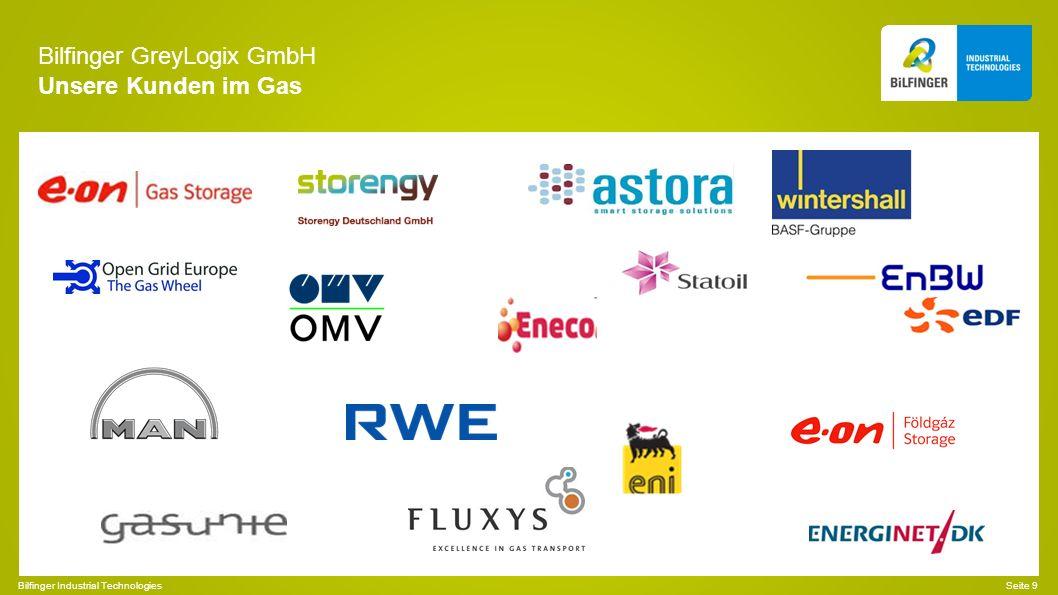 Bilfinger GreyLogix GmbH Unsere Kunden im Gas