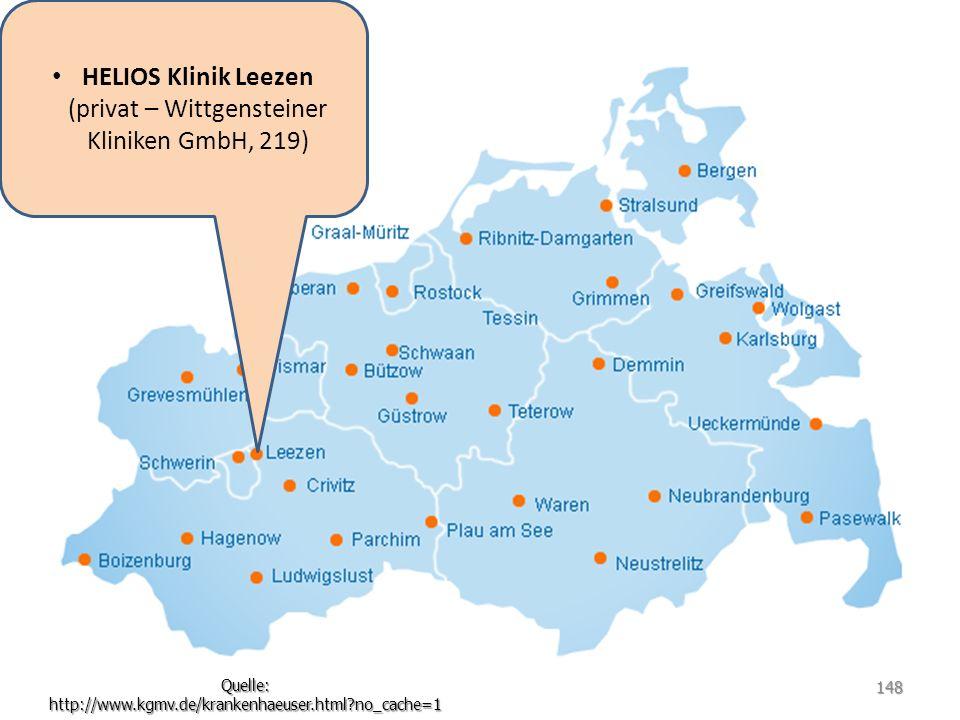 HELIOS Klinik Leezen (privat – Wittgensteiner Kliniken GmbH, 219)