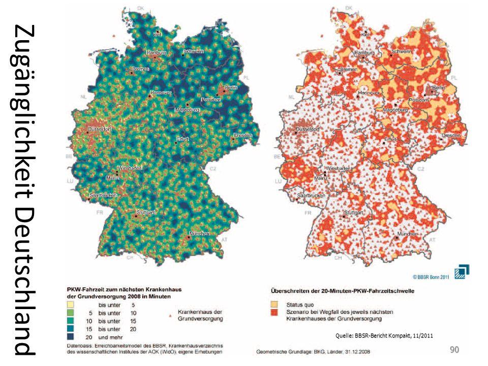 Zugänglichkeit Deutschland