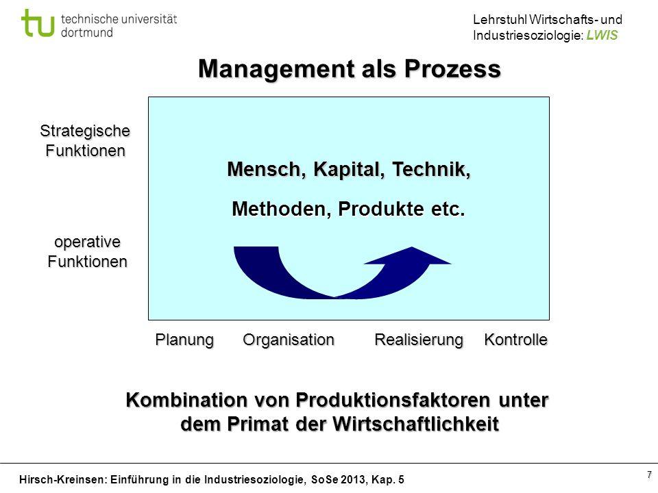 Management als Prozess