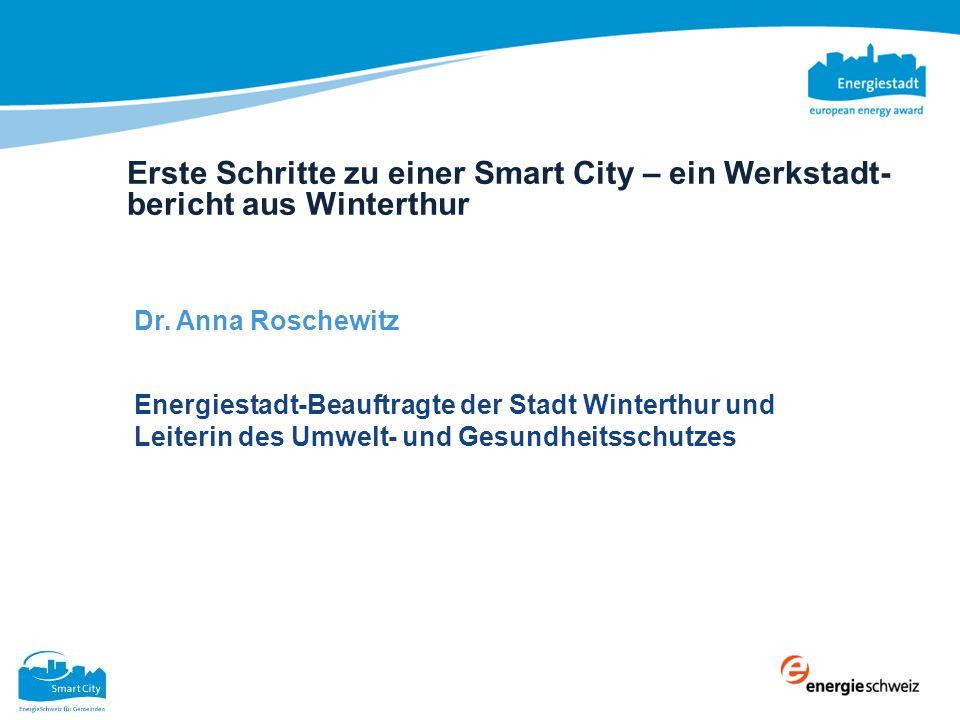 Erste Schritte zu einer Smart City – ein Werkstadt-bericht aus Winterthur