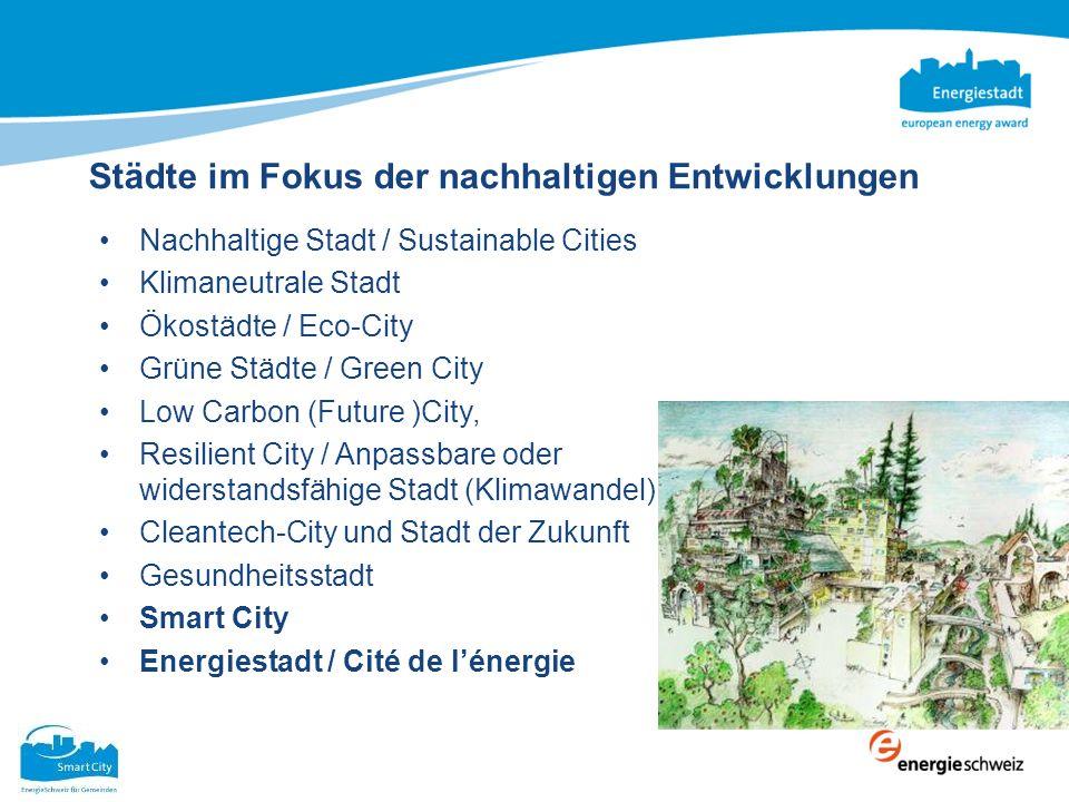 Städte im Fokus der nachhaltigen Entwicklungen
