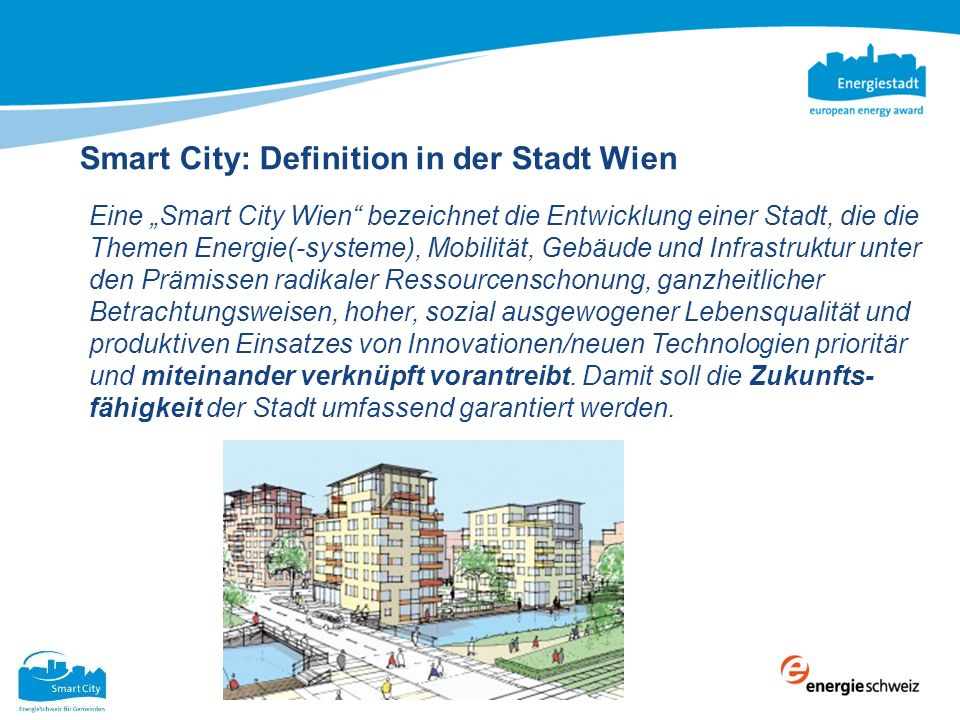 Smart City: Definition in der Stadt Wien