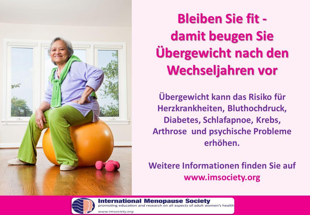 damit beugen Sie Übergewicht nach den Wechseljahren vor