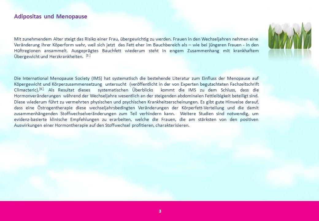 Adipositas und Menopause