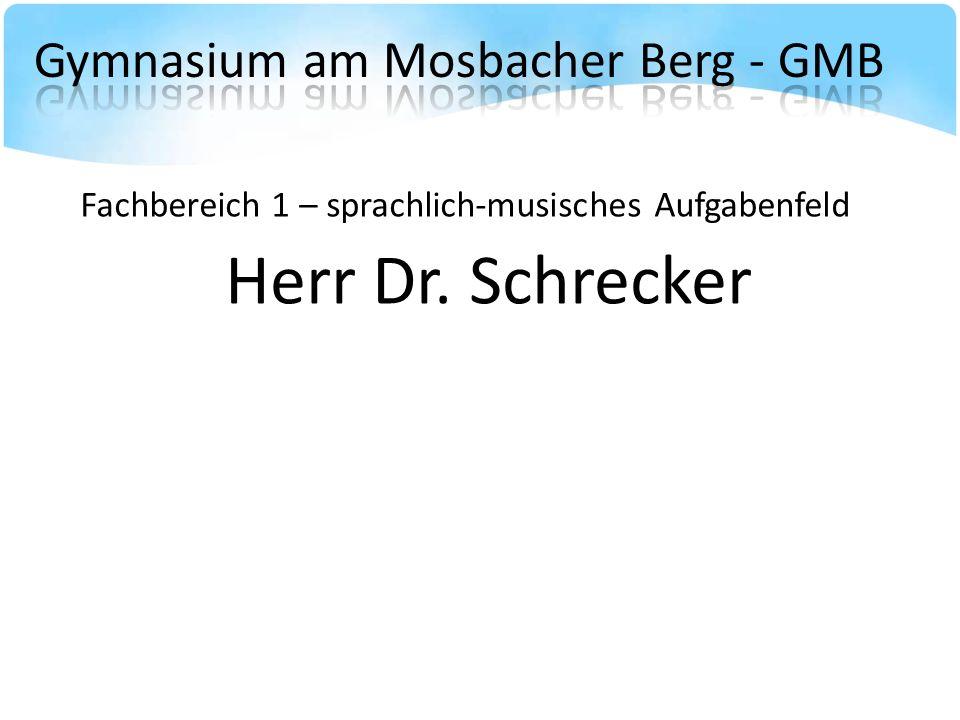 Gymnasium am Mosbacher Berg - GMB