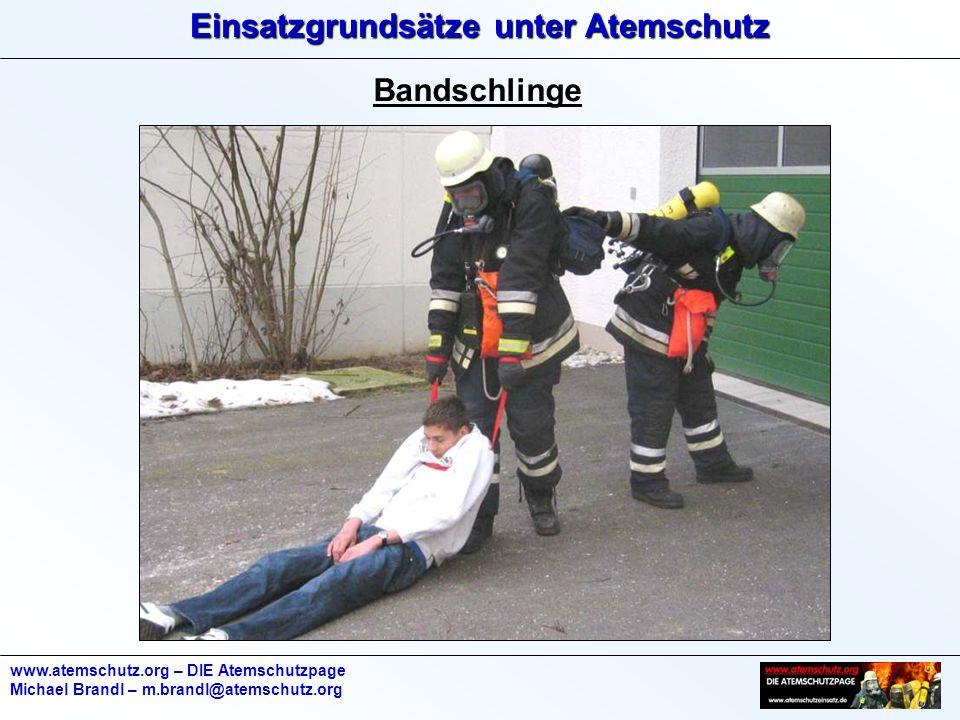 Bandschlinge www.atemschutz.org – DIE Atemschutzpage