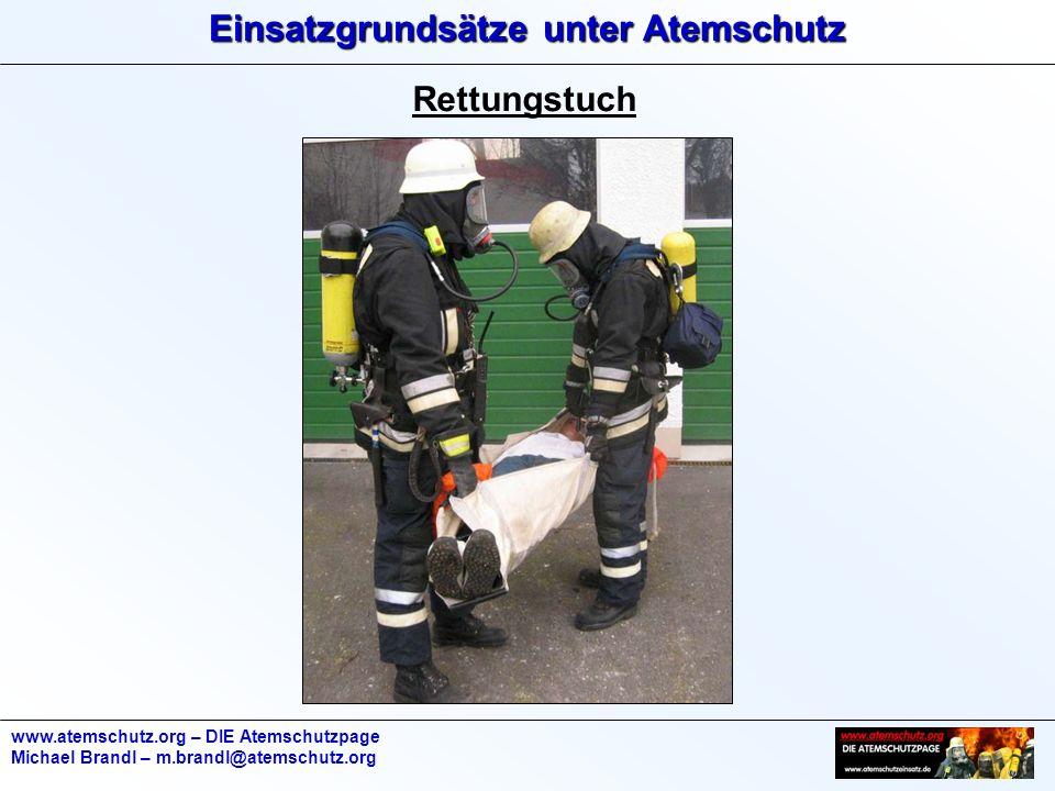 Rettungstuch www.atemschutz.org – DIE Atemschutzpage