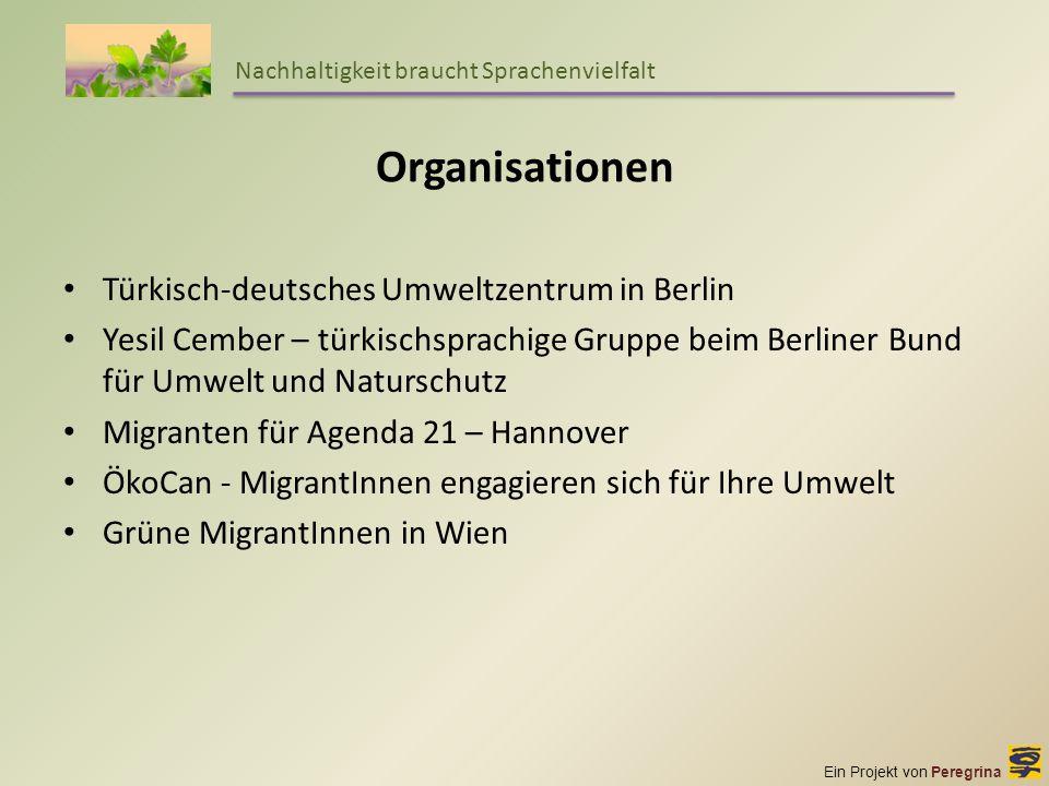 Organisationen Türkisch-deutsches Umweltzentrum in Berlin