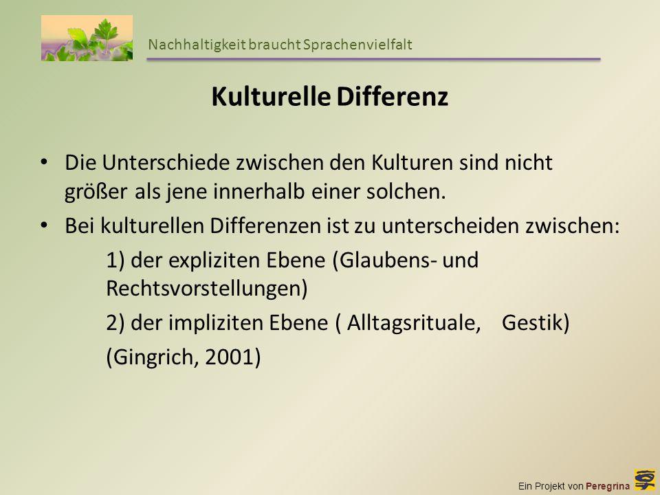 Nachhaltigkeit braucht Sprachenvielfalt