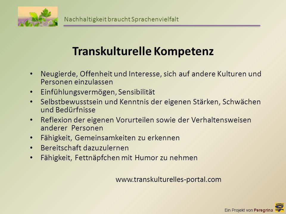 Transkulturelle Kompetenz