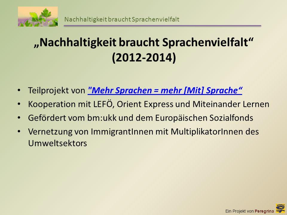 """""""Nachhaltigkeit braucht Sprachenvielfalt (2012-2014)"""