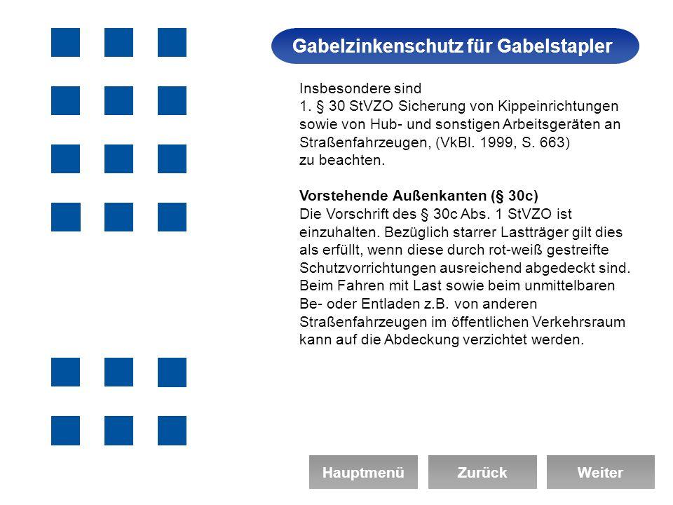 Gabelzinkenschutz für Gabelstapler Arbeitssicherheit