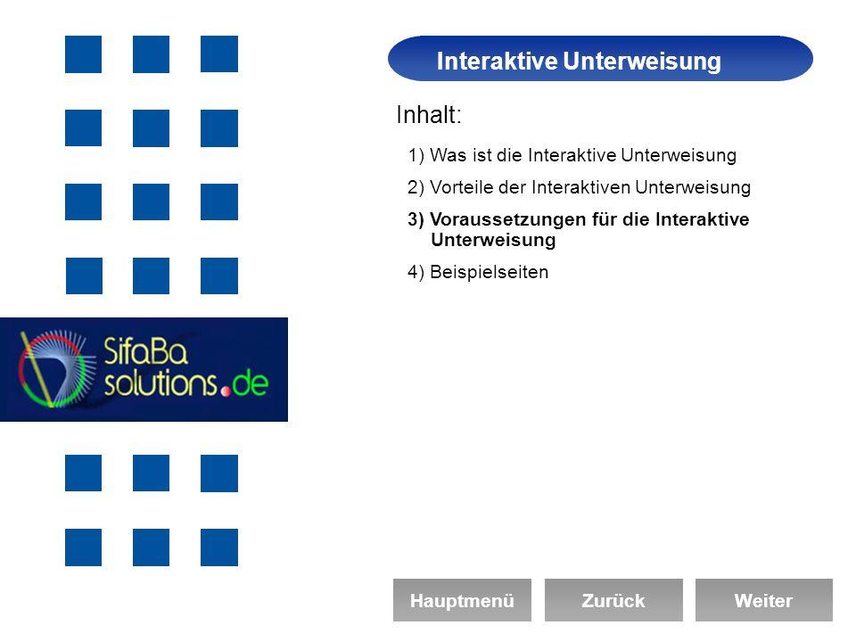 Interaktive Unterweisung