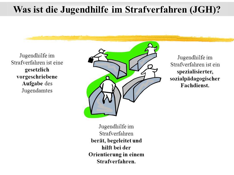 Was ist die Jugendhilfe im Strafverfahren (JGH)