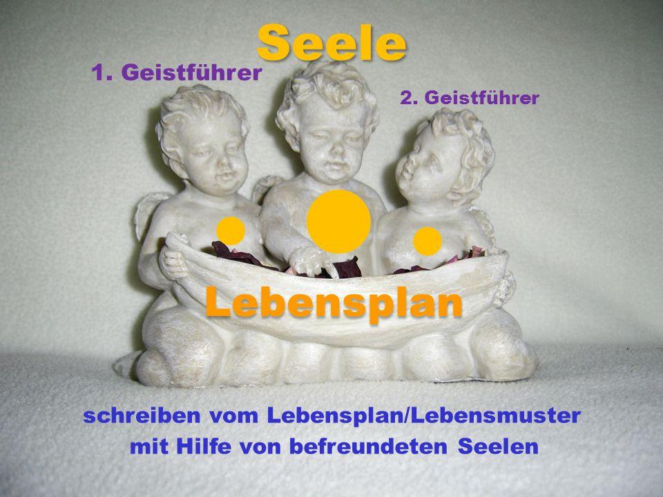 l Seele l l Lebensplan 1. Geistführer