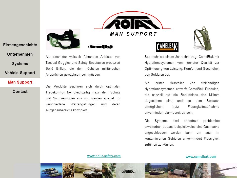M A N S U P P O R T Firmengeschichte Unternehmen Systems