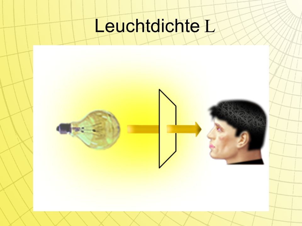 Leuchtdichte L