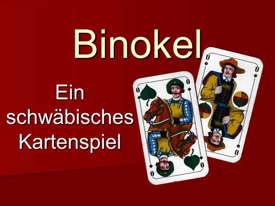 Ein schwäbisches Kartenspiel