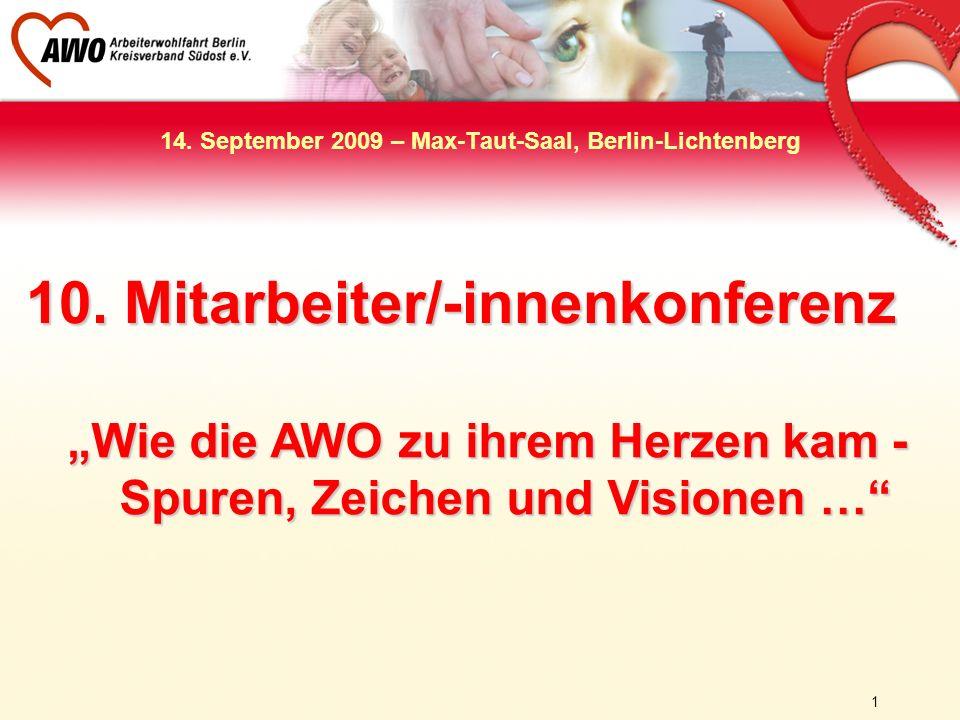 14. September 2009 – Max-Taut-Saal, Berlin-Lichtenberg