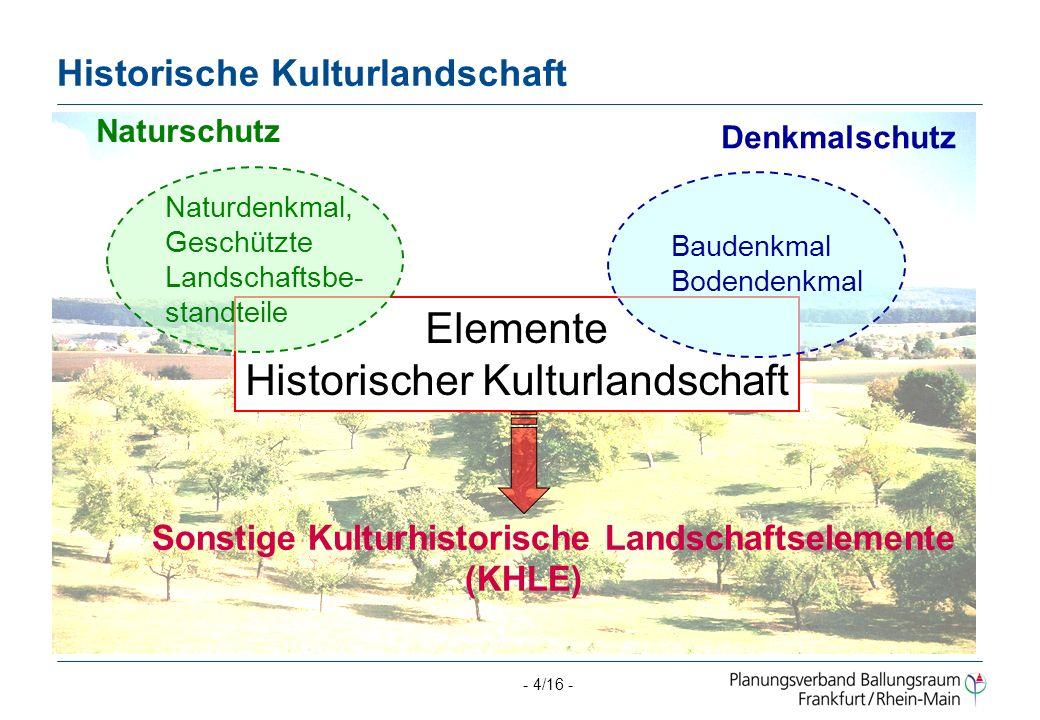 Historische Kulturlandschaft