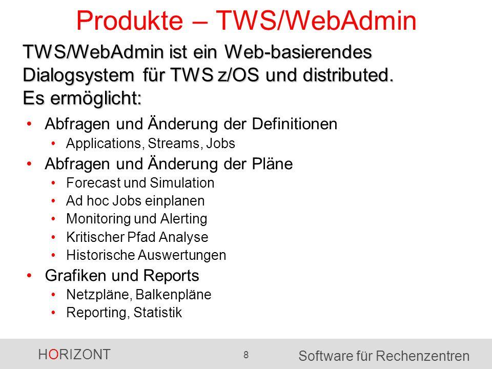 Produkte – TWS/WebAdmin