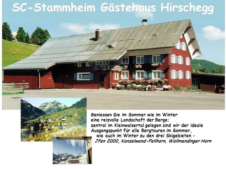 SC-Stammheim Gästehaus Hirschegg