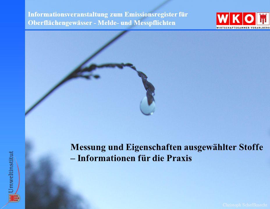 Informationsveranstaltung zum Emissionsregister für