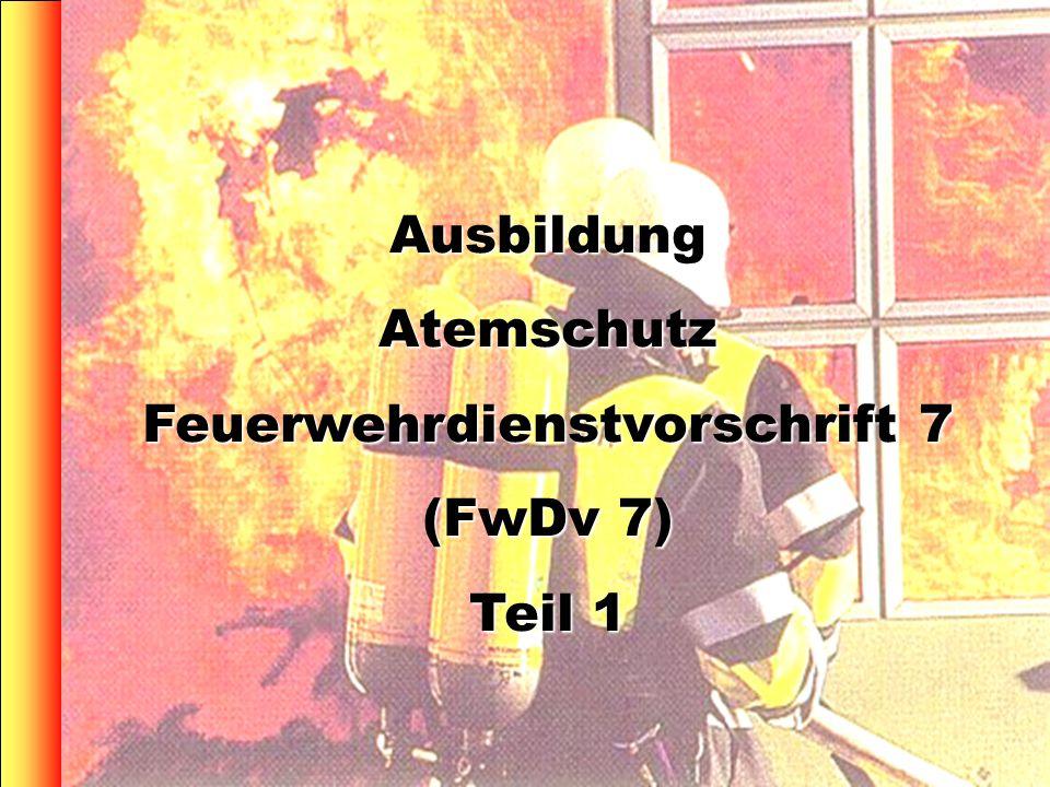 Feuerwehrdienstvorschrift 7