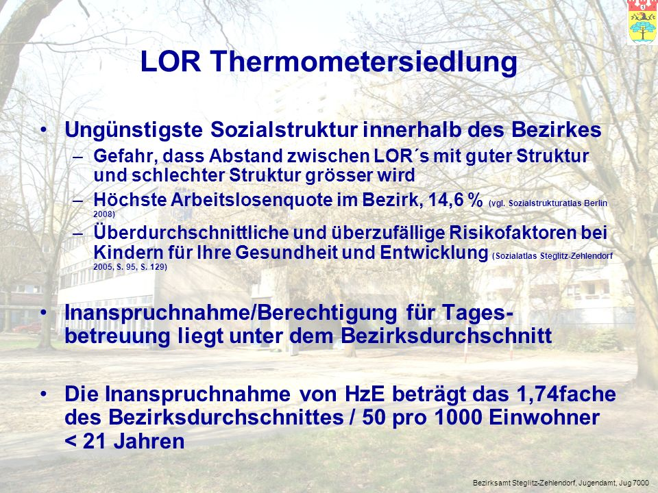LOR Thermometersiedlung