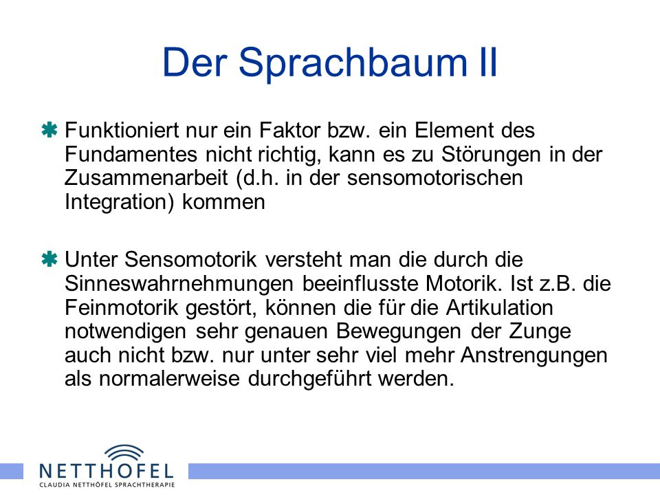 Der Sprachbaum II