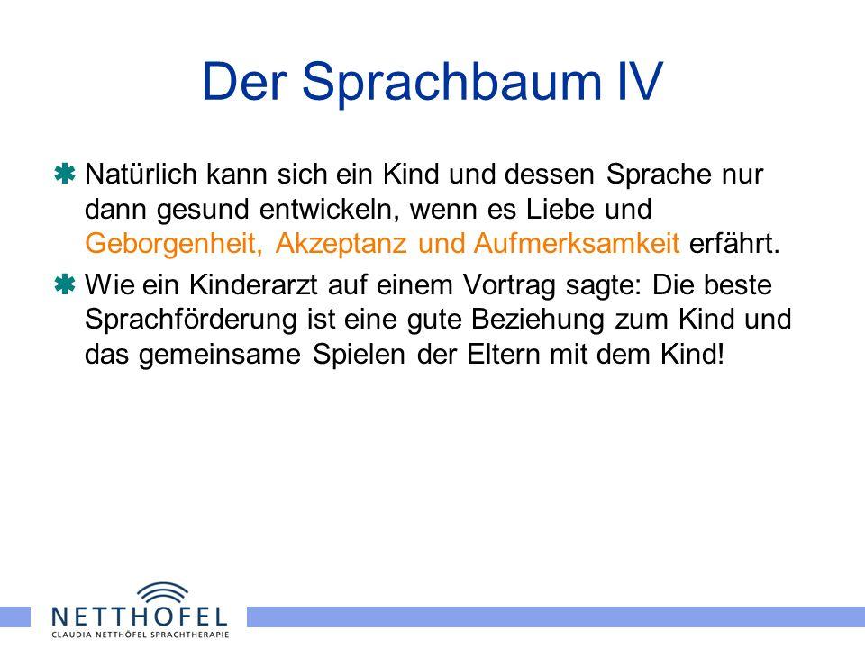 Der Sprachbaum IV