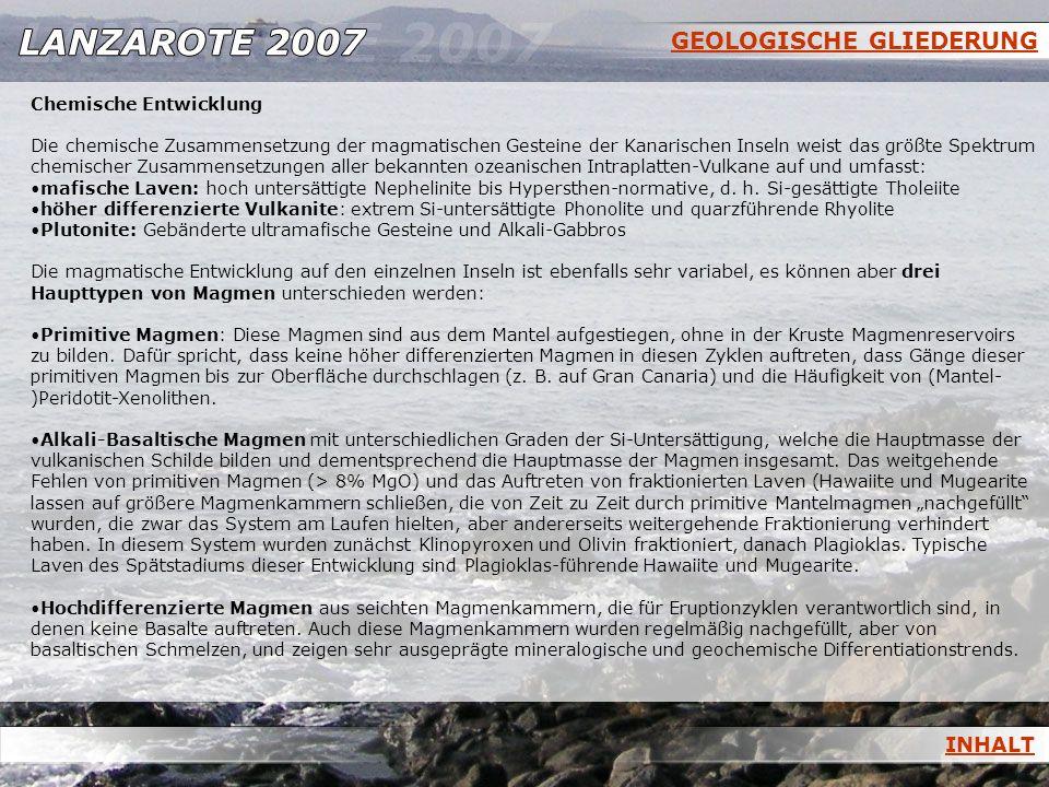 GEOLOGISCHE GLIEDERUNG