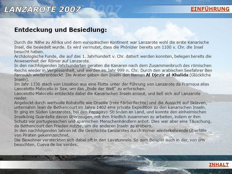Entdeckung und Besiedlung: