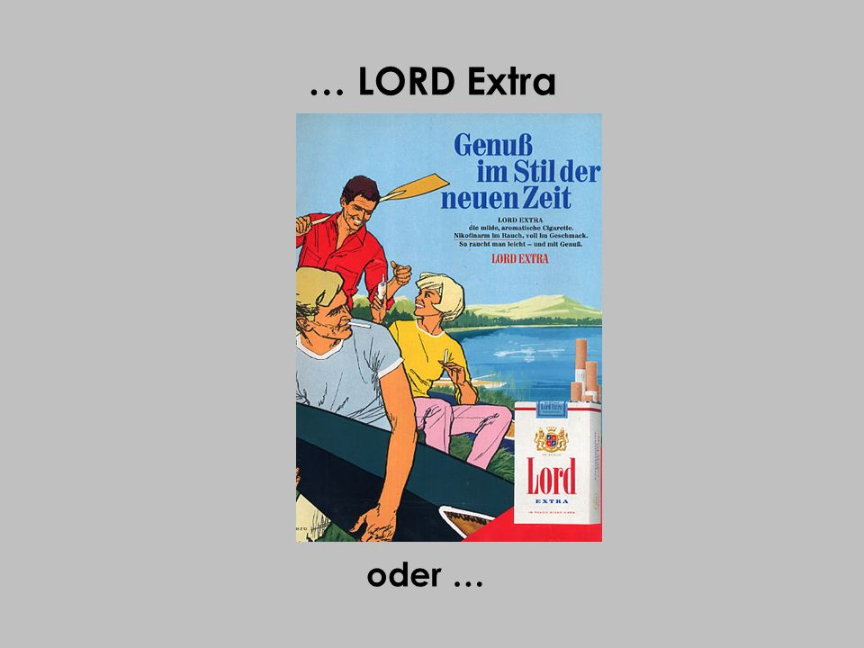 … LORD Extra oder …