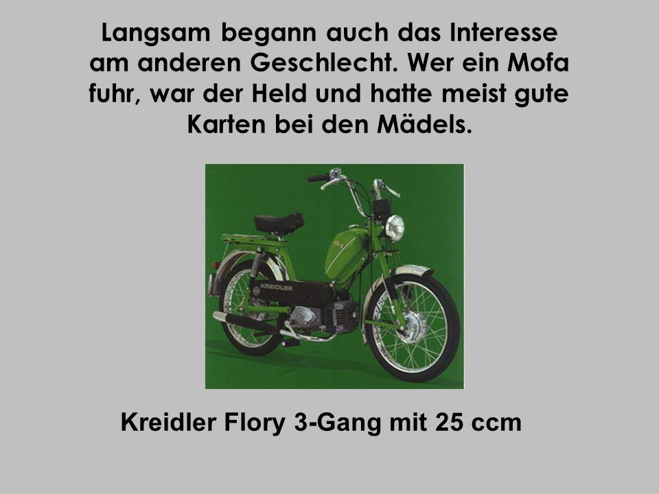 Kreidler Flory 3-Gang mit 25 ccm