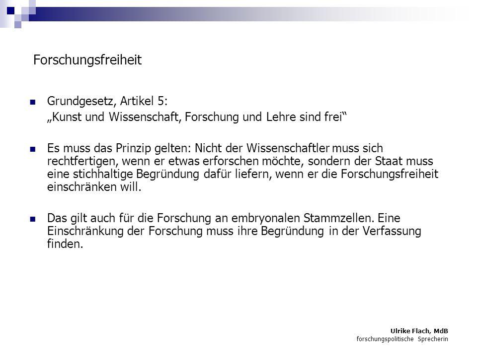 Forschungsfreiheit Grundgesetz, Artikel 5: