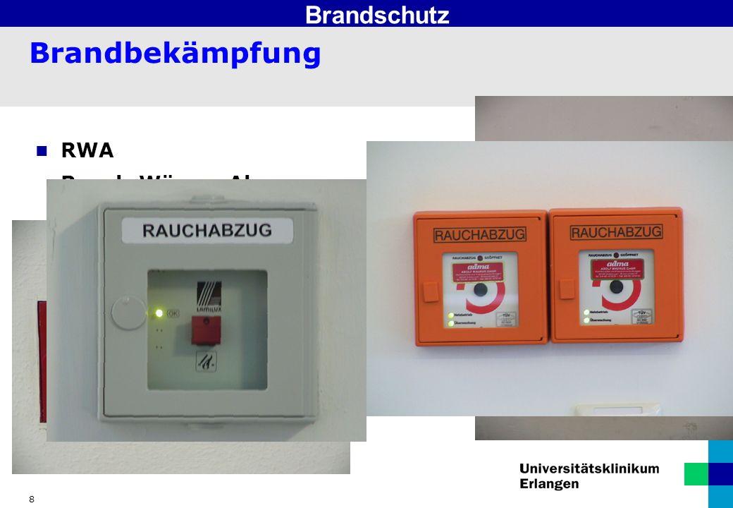 Brandschutz Brandbekämpfung RWA Rauch-Wärme-Abzug