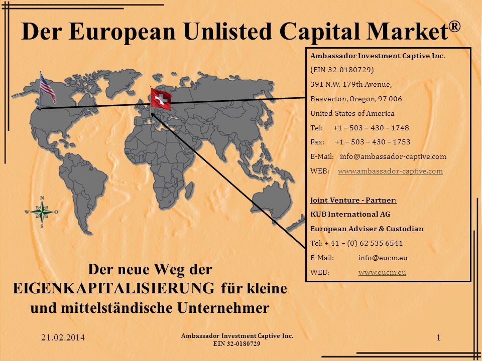 Der European Unlisted Capital Market®
