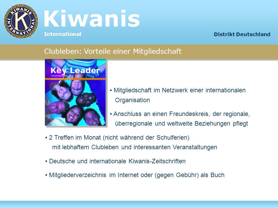 Kiwanis Clubleben: Vorteile einer Mitgliedschaft